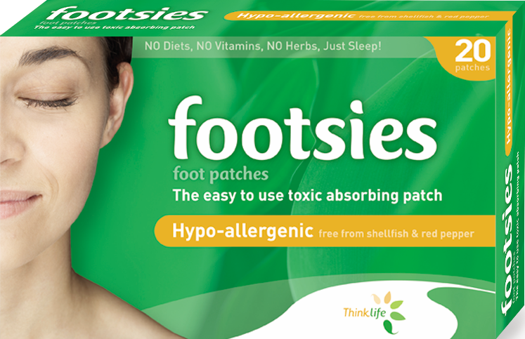 Footsies-Japanese Detox Foot Patches HypoAllergenic